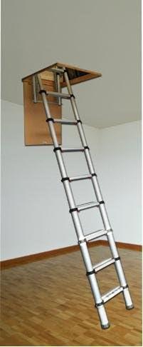 Escalera para desván 2,9 m Teletower, Price para 1 cada: Amazon.es: Electrónica