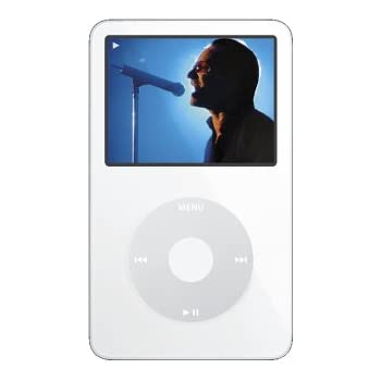 Apple iPod Video 60 GB White MA003LL/A (5th Generation)  (Discontinued by Manufacturer)