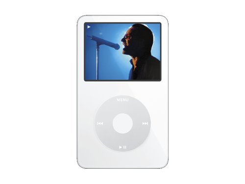 Apple iPod Video 60 GB White MA003LL/A (5th Generation)  (Discontinued by - Apple 60 Gb