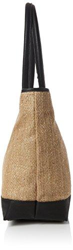 Dorothy Perkins Blush Applique Flower Clutch - Bolsa para Mujer, Oro