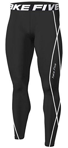 New Sports Compression Tight Skin Pants Base Layer Running Leggings Men Women (M, TK011 - Skins For Women