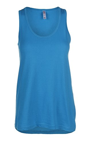 Sofra Womens Loose Fit Tank Top Relaxed Flowy