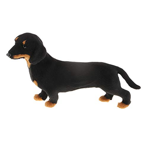 Baosity Garden Ornaments Standing Dachshund Dog Figurine for sale  Delivered anywhere in USA