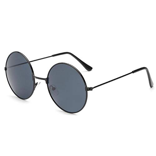 Vintage Round Sunglasses Women Anti-Reflective Lens Sunglasses Metal Frame Circle Glasses UV400,Silver