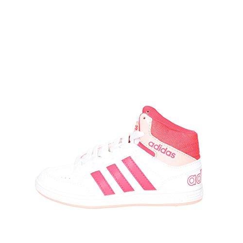 adidas B74658 Hoch Sneakers Boy Weiss/Schwarz