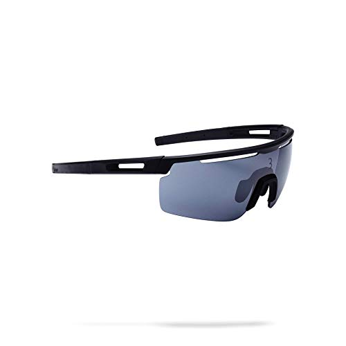 (BBB Cycling BSG-57 Avenger Sport Glasses with Interchangeable Lenses for Biking and Sun Protection (Matt)