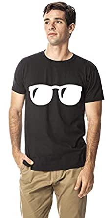 Cool Goggles cotton round neck tshirt, Black XXL