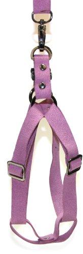 Gooby Luxury Dog Harness, One Size, Purple
