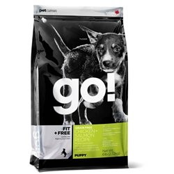 PETCUREAN 152403 Go Fit Plus Free Grain Free Puppy, 12-Pound