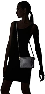 Fossil Campbell Large Crossbody Black