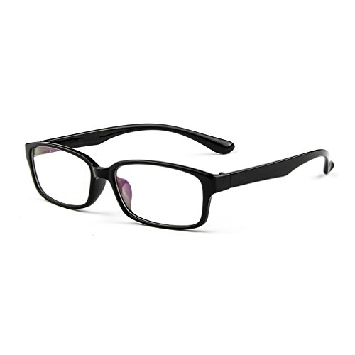 LOMOL Fashion Personality Student Style Transparent Lens Frame Glasses For - Yellow Glasses Tinted What For Are