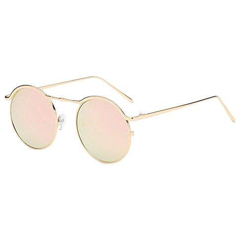 Dorical Comfortable Anti Vintage rayonnement Soleil Eyewear Vue Unisexes Lunettes Ronde B Monture Pour De Accessoires Avec Tggdqwr