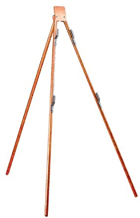 Jackson Safety 17495 Tripod Stand for Roll-Up and Rigid Sign, Orange