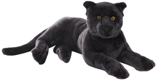 National Geographic Stuffed Animals Hand Puppet (1 Piece), Large, Panther (Big Panther Stuffed Animal compare prices)