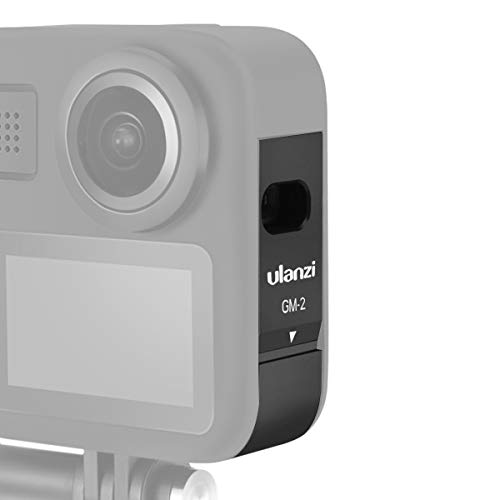ULANZI Gopro Max Battery Cover, Vlog Accessory for Gopro Max