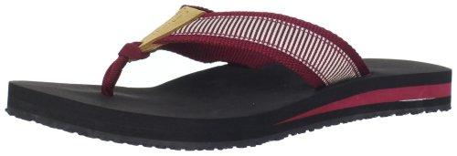 Carhartt Women's Marquette Flip Flops - Merlot - 5