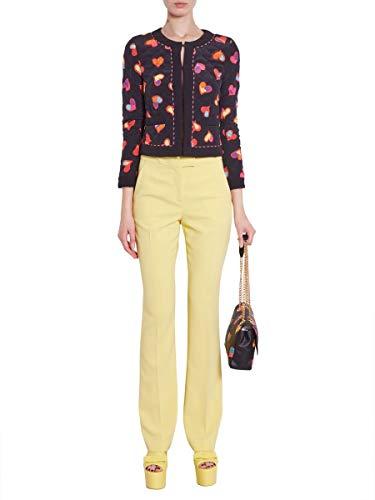 Jaune Polyester Pantalon Femme A031111240024 Moschino Boutique 7qYzwgn