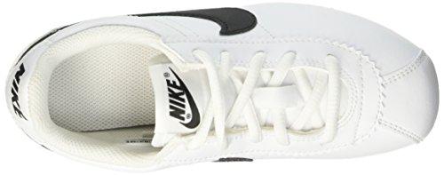 Nike Cortez (Ps), Zapatillas de Running para Niños Blanco / Negro (White / Black)