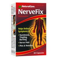 Natural Care NerveFix - 60 Capsules pack of -6 by Natural Care