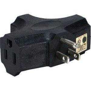 QVS Power Outlet Splitter - AC Power, AC Power - 125 V AC / 15 A - PA-3P
