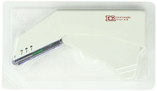 Ever Ready First Aid Sterile Disposable Surgical Skin Stapler With 35 Preloaded Staples