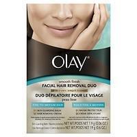 Olay Smooth Finish Facial Hair Removal Duo Kit, 1 kit