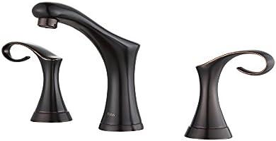 "Kraus FUS-13103ORB Cirrus Widespread 2-Handle Bathroom Faucet, 8"", Oil Rubbed Bronze"