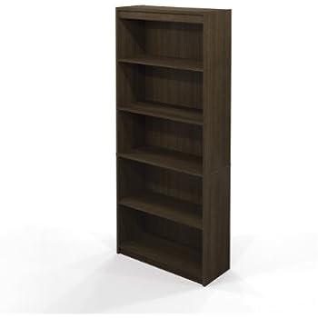 Marvelous Bestar Standard Bookcase, Tuxedo