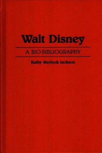 Walt Disney: A Bio-Bibliography (Popular Culture Bio-Bibliographies) by Brand: Greenwood