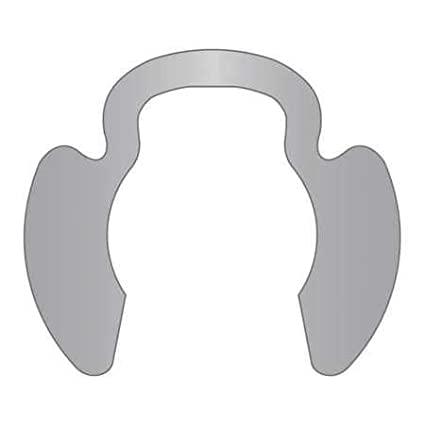 Retaining Ring Ext SS PL 3//8 Min Pack of 25 Qty 25, Poodle