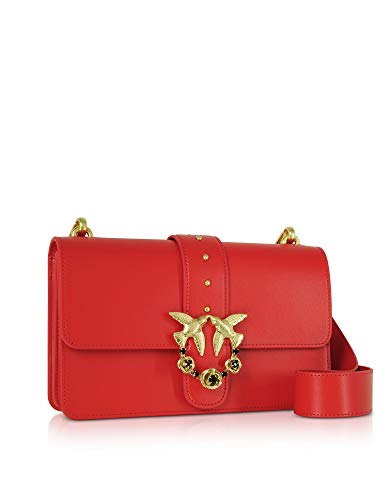 Cuero Rojo 1p21dcy5eur24 Pinko Bolso De Mujer Hombro Ttppqw7U