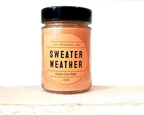 Soy Candles -Sweater Weather Pumpkin Pecan Waffle Scented | The Fragrance Lab