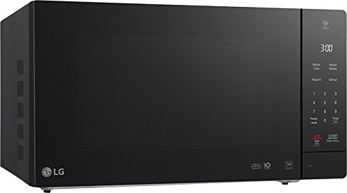 LG LMC2075ASB Neochef Countertop Microwave with Smart Inverter, Smooth Black by LG