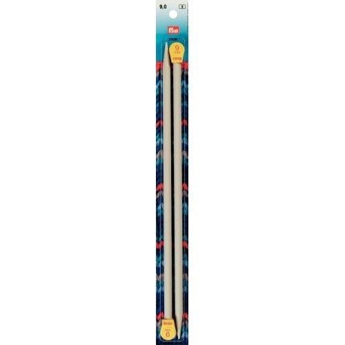 Inox 14 inch Single Point Plastic Knitting Needles Size 13 (9mm) - Inox Single