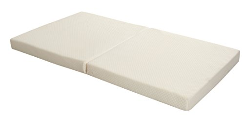 Candide Baby Bamboo Fold-able Crib Mattress