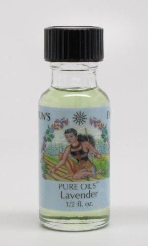 Lavender - Sun's Eye Pure Oils - 1/2 Ounce Bottle - incensecentral.us