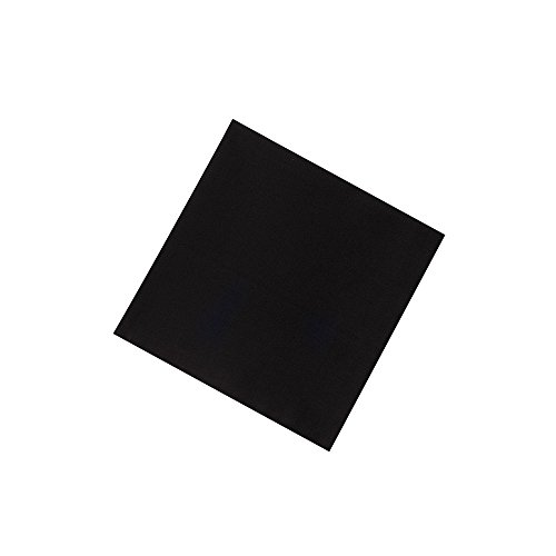 Rothco Solid Colors Bandana, Black, 27'' x 27''