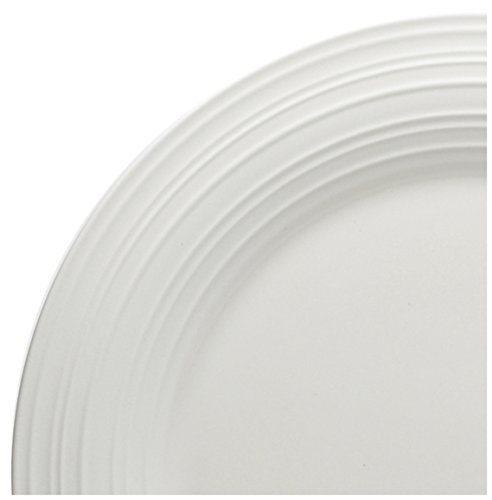 Mikasa Swirl White Oval Vegetable Serving Bowl, 10.5-Inch by Mikasa (Image #1)