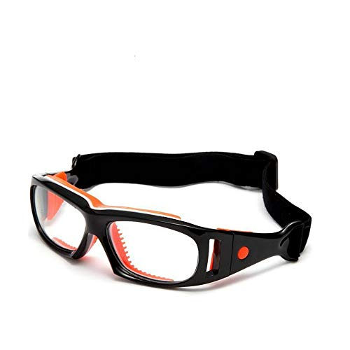 Mincl Basketball Sports Glasses Football Perfect Personality Goggles (Prescription Glasses Sports)