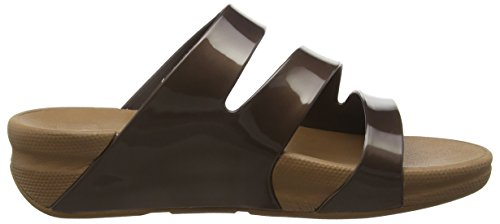 Delle Marrone Superjelly Fitflop Sandali Torsione bronzo Donne t76w06qx