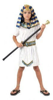 [Boys Fancy Dress Costume Pharaoh (Medium) G51255M Egyptian Ancient Egypt by fancy dress warehouse] (Ancient Egypt Costumes)
