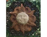 Pine Tree Farms PTF1362 Sun Wreath - Sunflower Seed Wreath