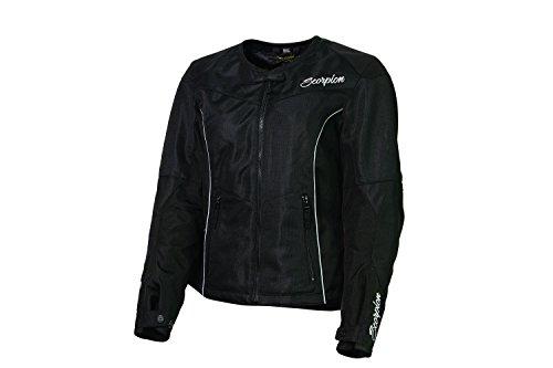 - ScorpionExo Verano Women's Textile Sport Motorcycle Jacket (Black, Large)