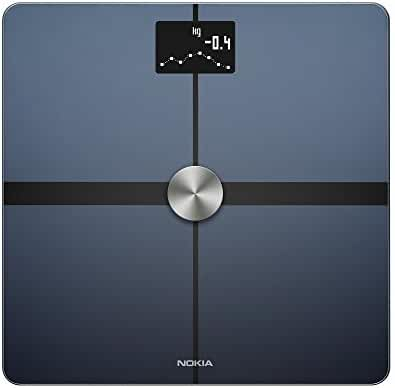 Nokia Body+ – Body Composition Wi-Fi Scale, black