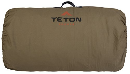 TETON Sports Sierra Canvas Waterproof Bell Tent for in 8-12 Person Tent