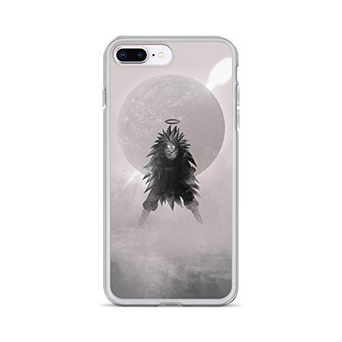 iPhone 7 Plus/8 Plus Case Anti-Scratch Gamer Video Game Transparent Cases Cover DBZ God Gaming Computer Crystal Clear ()