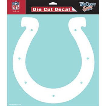 NFL Indianapolis Colts WCR25657061 Perfect Cut Decals, 8