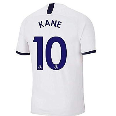 XYEMT New Tottenham Hotspur 2019/2020 Season Home 10 Kane Mens Socce Jersey Color White