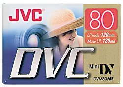 JVC Mdv80Du 80-Minute Mini Digital Video Tape (Discontinued by Manufacturer) by JVC