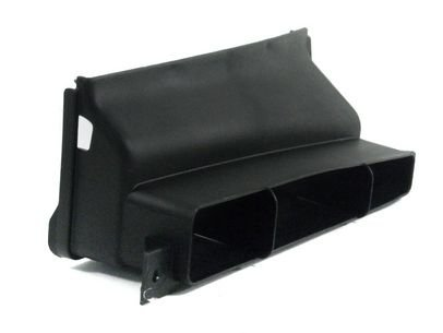 Genuine Satin Black Air Guide Channel Vw Audi Beetle Convertible 1K0805971c9b9